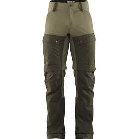 Fjällräven Keb Gaiter Broek Heren, deep forest-laurel green